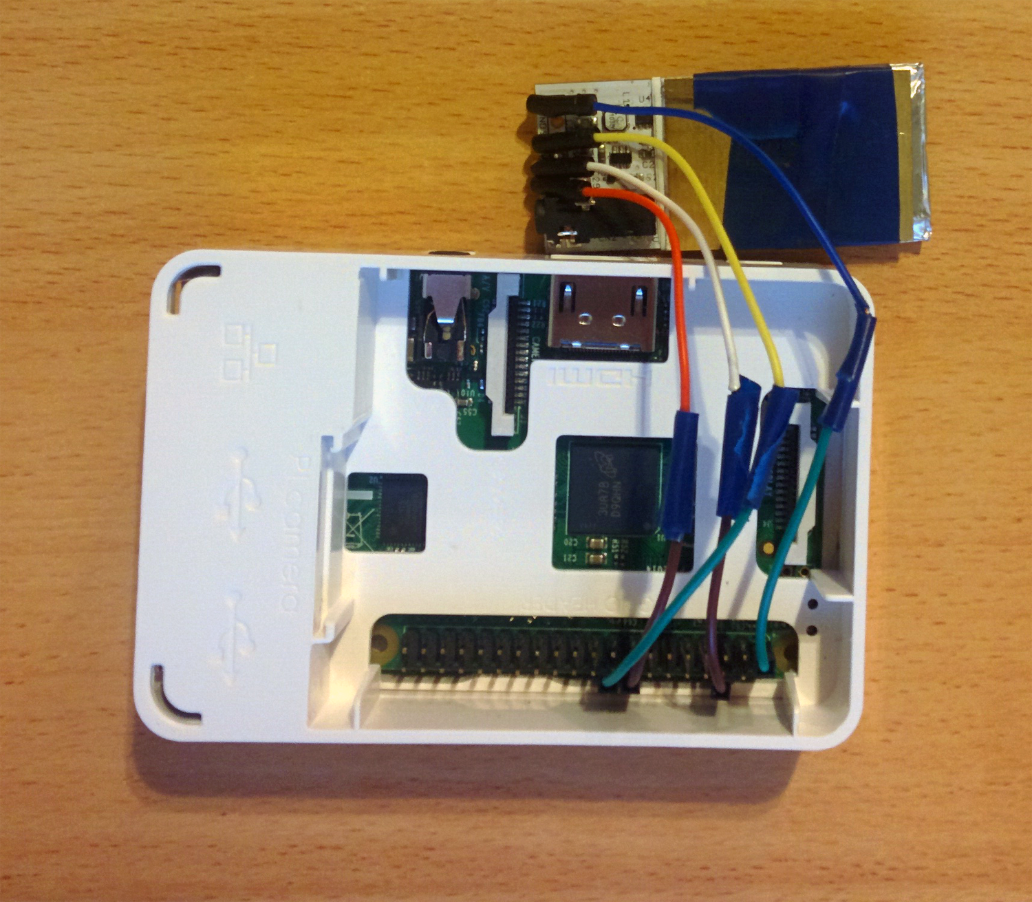 Wiring of Pocket Geiger and Raspberry Pi